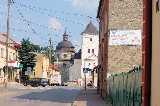 Staszów - ulica Kościelna